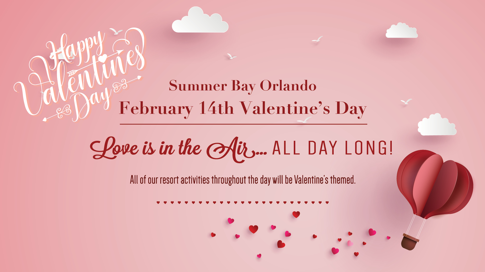 summer bay orlando valentines day flier